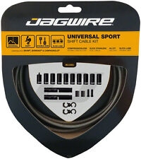 Jagwire Universal Sport Shift Cable Kit: SRAM/Shimano/Campagnolo, Carbon Silver