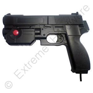 Ultimarc AimTrak Black Arcade Light Gun with Line of Sight Aiming LCD CRT Plasma