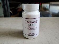 Iodoral IOD 12.5mg High Potency Iodine Potassium Iodine 180 Tablets 11/22