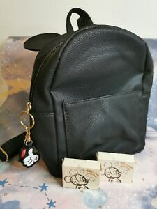 Mickey Mouse Handbag or backpack with ears and key chain  Primark +Mickey soap.