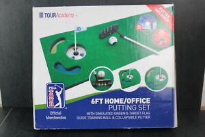 PGA Tour, 6ft home office, putting set, tour academy