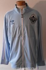 Nwt Adidas Vancouver White Caps Fc MensTrack Jacket 2Xl Light Blue