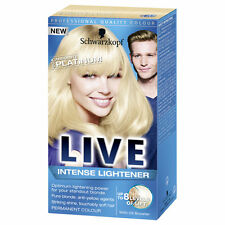 3 x Schwarzkopf Live Color  00A Absolute Platinum