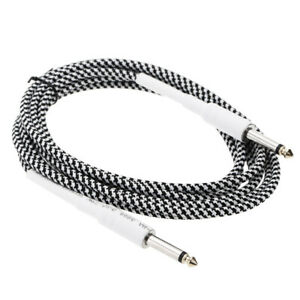 6.6ft 3.5mm Stereo Male -6.35mm Mono Male Cable Wire Cord for Guitar J7O8
