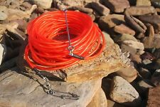 floatline 20m spearfishing 9mm red colour tube+Dyneema float line by ruminex