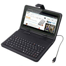 "Universal 7.0"" USB Tablet Case Stand with FULL Keyboard for NeuTab Epassion Fire"