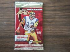 2000 Playoff Absolute Football Factory Sealed Pack Tom Brady Rookie Card Year