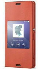 Genuine Sony Scr26 Compact Style Cover Sunset Orange for Xperia Z3 Original