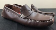 Cole Haan Loafer Womens SZ 6 B Black Leather Moc Toe Driving Shoe Flat Penny