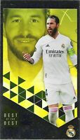 TOPPS BEST OF THE BEST 2020/21 CAPTAINS SERGIO RAMOS NO 178