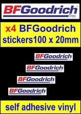 4 BF Goodrich patrocinador Pegatina A/T off-road Neumáticos 4wd Rally calcomanías de Land Rover 4x4