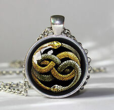 collar historia interminable auryn neverending story necklace glass