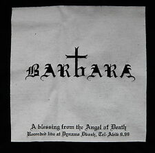 BARBARA - Israeli Rock Hardcore Doom Metal Grindcore Band 2003 T-Shirt Size L