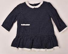 Ralph LAUREN Bebé Niñas Conjunto de Vestido Azul Marino 2pc, tamaño 6m