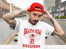 Death Row Records Red Logo T Shirt Vintage Rap Tee Hip Hop Dr Dre Snoop White