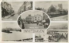 Whitehaven RP multiview postcard 1950's