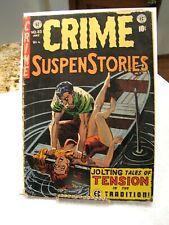 Crime Suspenstories # 23 1954 EC