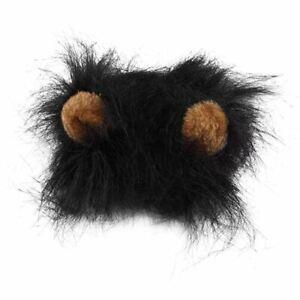Lion Head Mane Wig Hair Fur Headgear Small Cat Dog Puppy Pet Costume Cosplay
