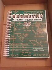 Geometry: A Teaching Textbook 2.0  Greg Shawn Sabouri TEXTBOOK ONLY