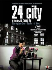 24 CITY Movie POSTER 27x40 Jianbin Chen Joan Chen Liping L  Tao Zhao