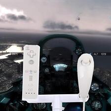 Plastic Airplane Aeroplane Joypad Controller Stand for Nintendo Wii Flight Game