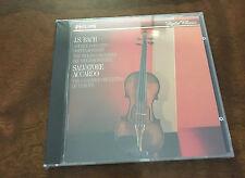 SALVATORE ACCARDO, J.S. BACH DOUBLE CONCERTO THE VIOLIN CONCERTOS CD GERMANY