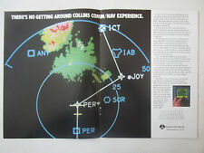 12/1991 PUB ROCKWELL COLLINS AVIONICS COMM NAV NAVSTAR GPS RADAR ORIGINAL AD