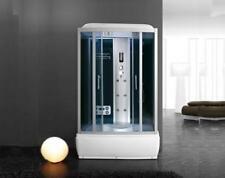 cabina idromassaggio box doccia con vasca 125x88 bluetooth con o senza sauna 00p