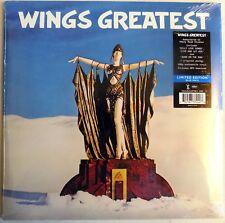 Paul McCartney - Wings Greatest - Blue Vinyl - 180 Gram LP - Germany - 2018 -New