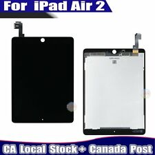 For Apple iPad Air 2 LCD Touch Digitizer Screen Replacement A1566 A1567 Black CA