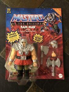 Mattel MOTU Origins Deluxe Ram Man Figure