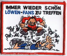 "Anti 1860 Aufnäher ""IMMER WIEDER.."" Kutte Weste Fan Patch Block Kurve + neu +"