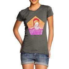 Women's Modern Hipster Queen Elizabeth I Graphic Print T-Shirt