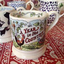 Emma Bridgewater Year In The Country 2011 0.5pt Mug New Best
