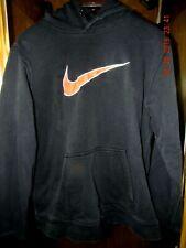 NIKE  Sweatshirt Hoodie BLACK  NIKE Brand Heavy Weight  Size: LARGE
