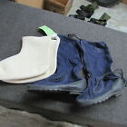US GI Air Force Blue Mukluk cold weather boots NOS W liner 1950's (Large)