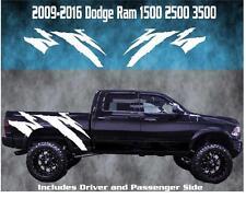 2009-2016 Dodge Ram Rebel Vinyl Decal Graphic Truck Bed Stripes 1500 2500 3500