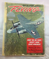 Flying Magazine Vintage Airplane Aviation July 1979 North American XAJ USAF