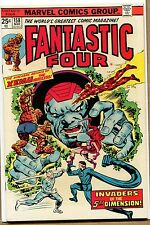 Fantastic Four #158 - Invasion from the 5th Dimension! - 1975 (Grade 9.2)