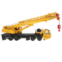 1:55 Scale 1/87 Machinery Crawler Tower Cable Excavator Diecast Crane Model