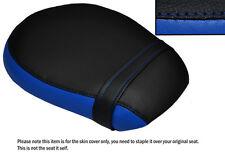 BLACK & ROYAL BLUE CUSTOM FITS TRIUMPH THUNDERBIRD 1600 LONGHAUL REAR SEAT COVER