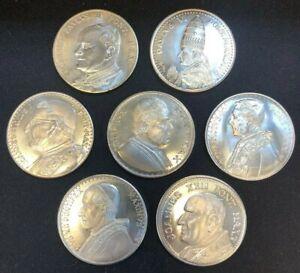 Vatican Papal Medals Lot of Seven