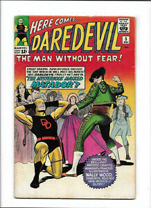 "DAREDEVIL #5 [1964 PR] ""THE MYSTERIOUS MASKED MATADOR""  WALLY WOOD ART!"