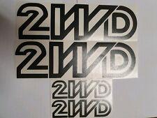 VW T3 T25 Vinyl Decal Black Sticker 2wd syncro transporter