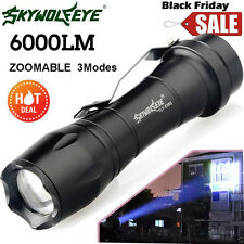 NEW Super Bright Q5 AA/14500 3 Modes ZOOMABLE LED Flashlight Torch Super bright