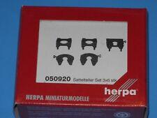 Herpa/ Promotex HO #050920, Fifth Wheels, 18 Mixed Variety