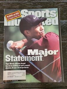 August 23, 1999 Tiger Woods Sports Illustrated