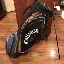 Callaway Big Bertha Ultra Lite 3.8 Golf Bag 6-Way w/ Dual Straps & Rain Cover