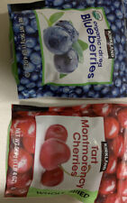 Kirkland Whole Dried Cherries 1 Lb & Organic Dried Blueberries 1 Lb