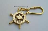Best Friend Compass Keychain Set BFF Nautical Direction Gift Initial
